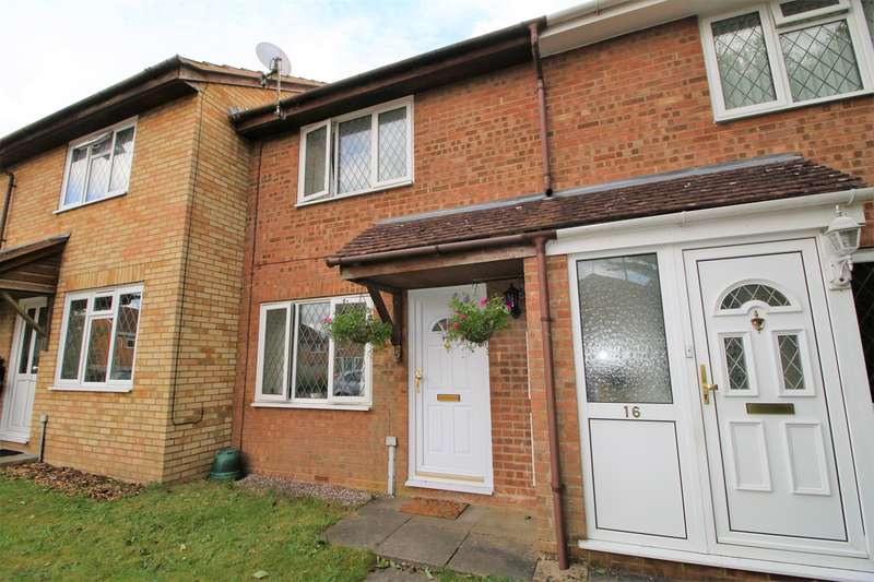 2 Bedrooms Terraced House for sale in Calleva Close, Hatch Warren, Basingstoke, RG22