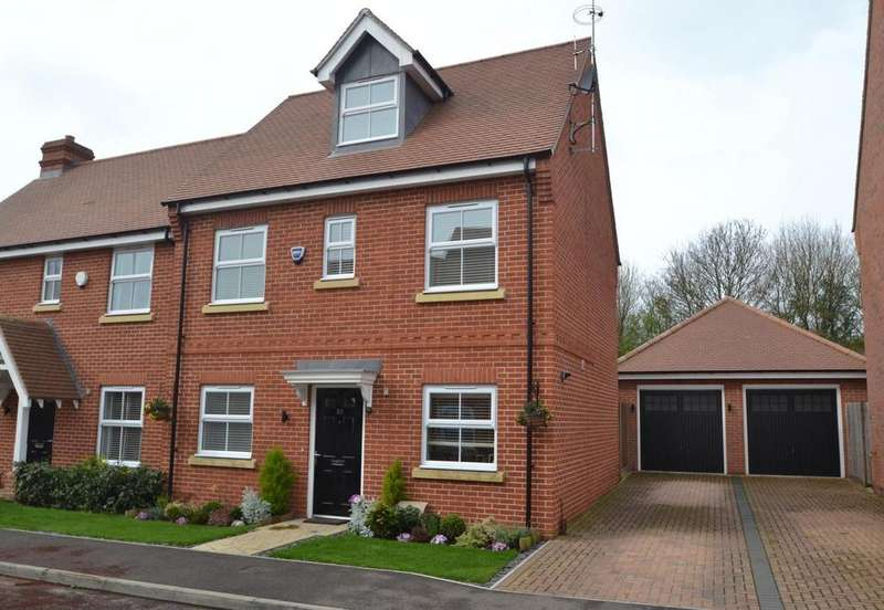 4 Bedrooms Semi Detached House for sale in Bell Hill Close, Billericay, Essex, CM12