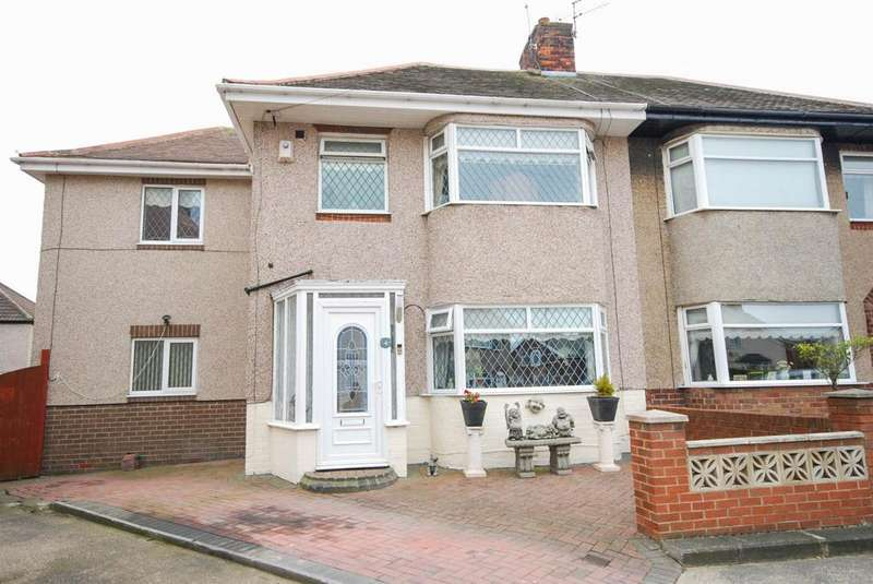 3 Bedrooms Semi Detached House for sale in Pauline Avenue, Fulwell