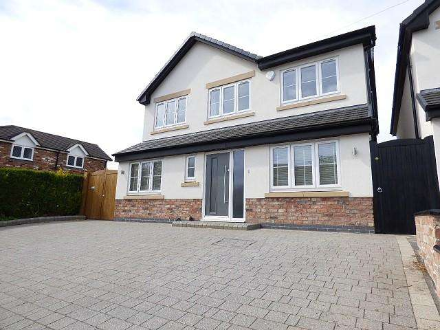 4 Bedrooms Detached House for sale in Heath Lane, Croft, Warrington