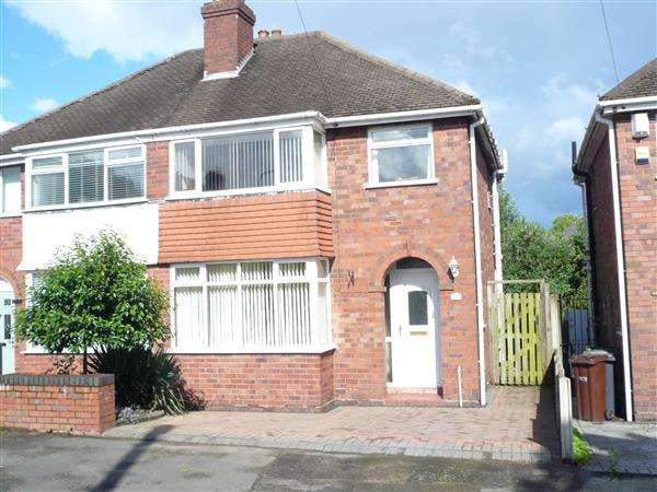 3 Bedrooms Semi Detached House for sale in Lawfred Avenue, Wednesfield, Wednesfield