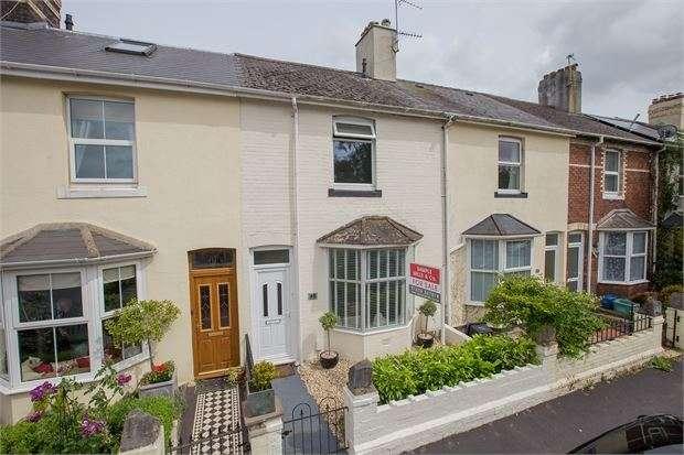 3 Bedrooms Terraced House for sale in Forde Close, Newton Abbot, Devon. TQ12 4AF