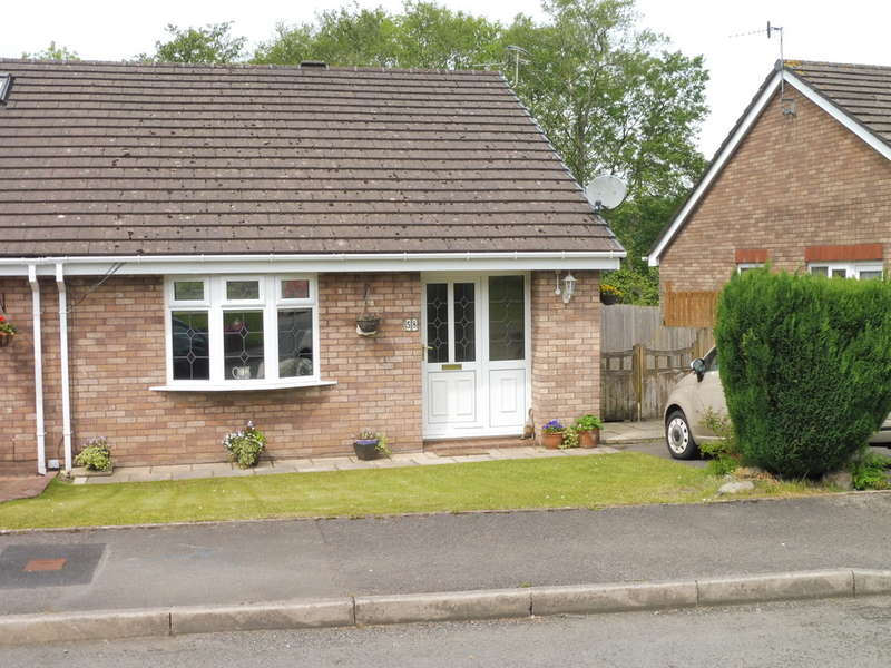 2 Bedrooms Semi Detached Bungalow for sale in Chester Close, New Inn, Pontypool
