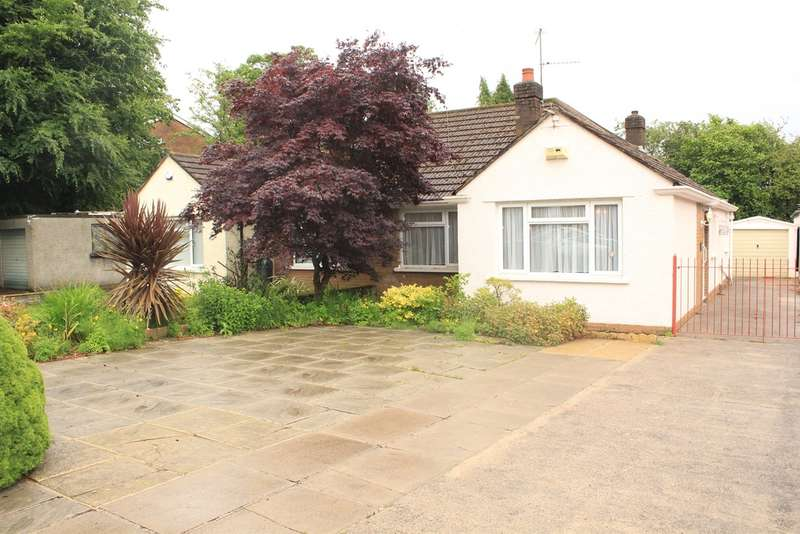 2 Bedrooms Semi Detached Bungalow for sale in Heol Llanishen Fach, Cardiff