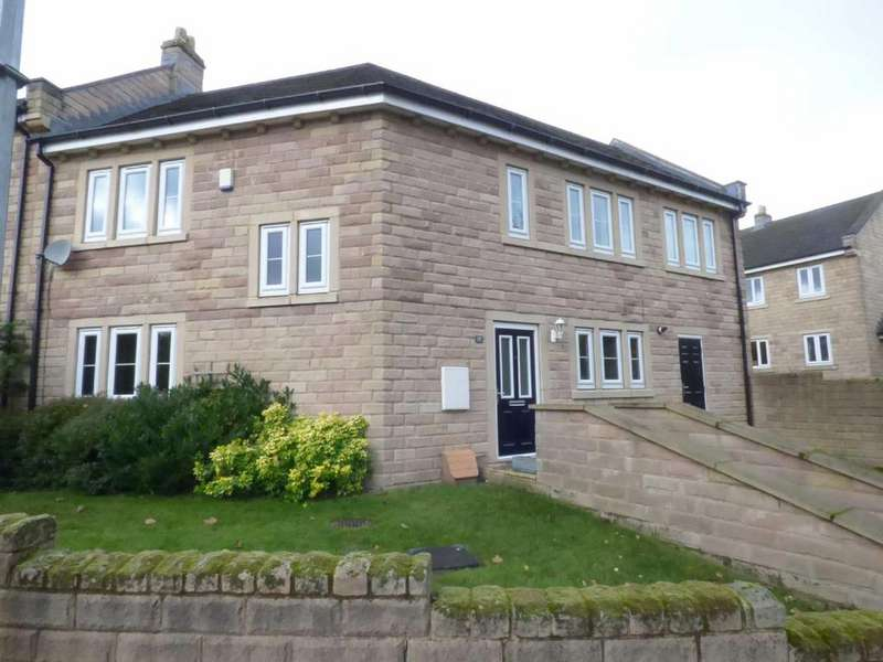 4 Bedrooms Semi Detached House for sale in Moorbrook Mill Drive, New Mill, Holmfirth, West Yorkshire, HD9