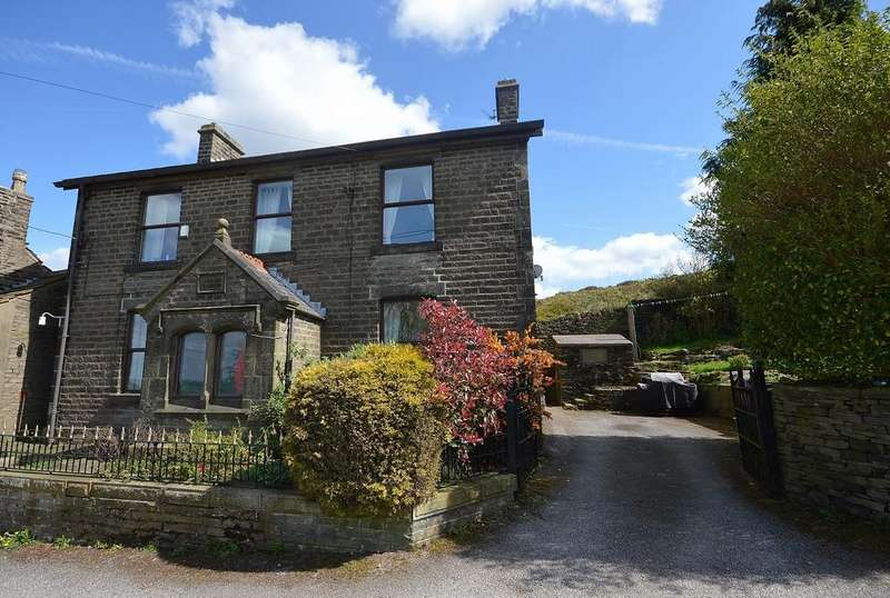 5 Bedrooms Detached House for sale in Back Lane, Charlesworth