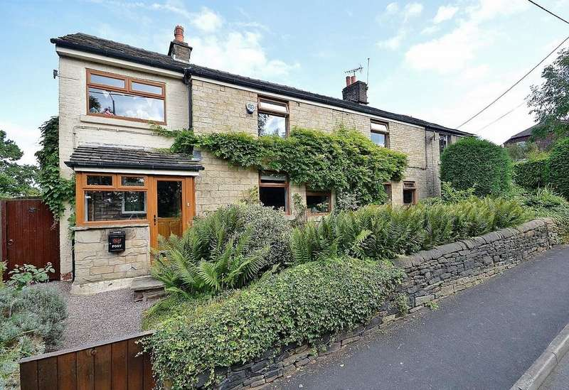 4 Bedrooms Semi Detached House for sale in Glossop Road, Marple Bridge