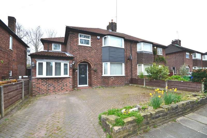 5 Bedrooms Semi Detached House for sale in Woodburn Road, Northenden
