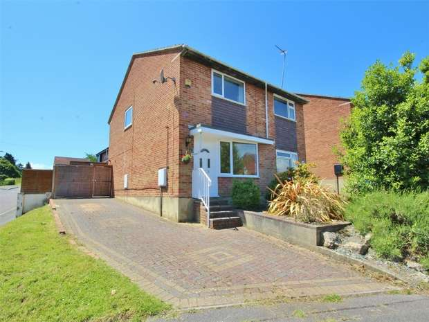 2 Bedrooms Semi Detached House for sale in Highview Gardens, Parkstone, POOLE, Dorset