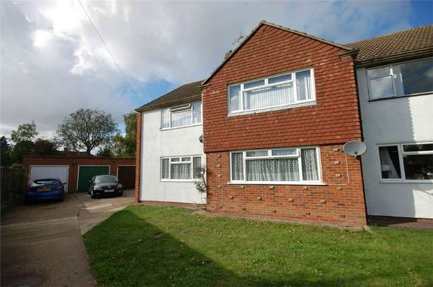 2 Bedrooms Maisonette Flat for sale in Green Acre, Aylesbury, Buckinghamshire