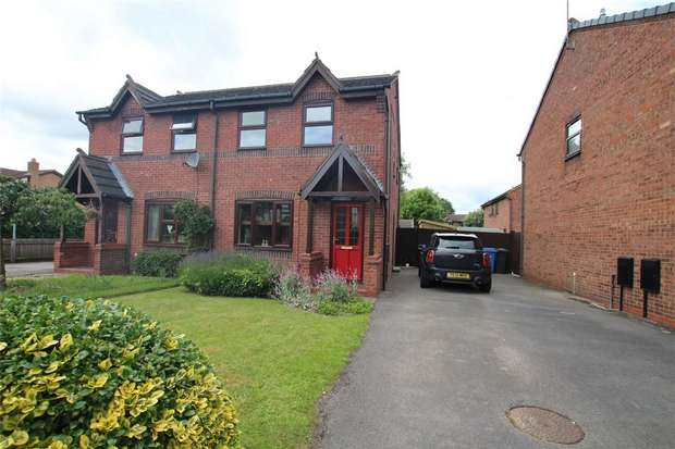 3 Bedrooms Semi Detached House for sale in Copse Drive, Armitage, Rugeley, Staffordshire