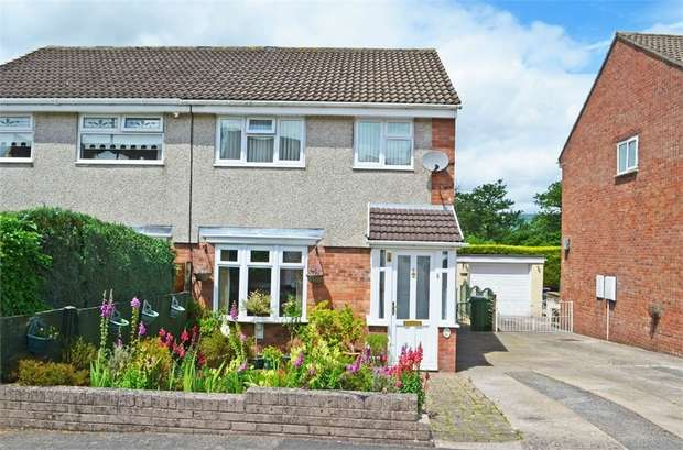 3 Bedrooms Semi Detached House for sale in Palm Close, New Inn, Pontypool, Torfaen