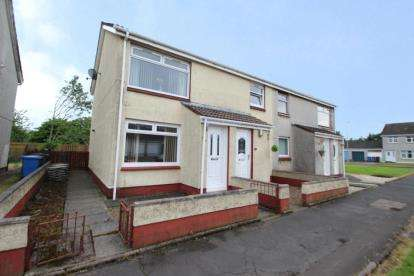 2 Bedrooms Flat for sale in Edzell Row, Kilwinning, North Ayrshire
