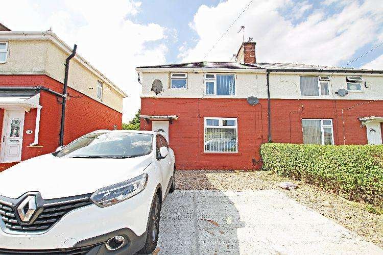 3 Bedrooms Semi Detached House for sale in Whitehill Drive Rotherham South Yorkshire