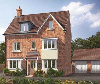 5 Bedrooms Detached House for sale in Kingsfield Park, Aylesbury