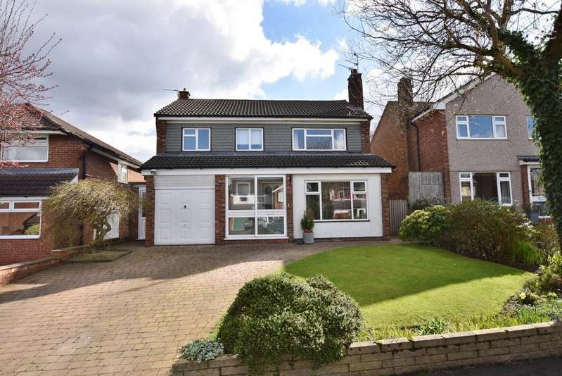 3 Bedrooms Detached House for sale in Woburn Drive, Hale
