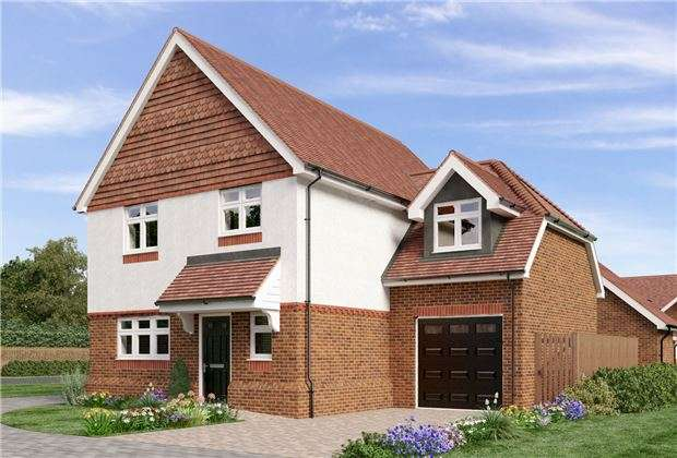 4 Bedrooms Detached House for sale in 1 Campbell Close, Reigate Road, Hookwood, HORLEY, Surrey, RH6 0AS