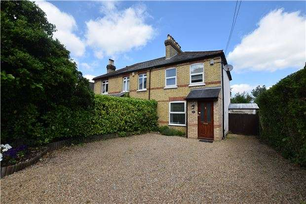 2 Bedrooms Semi Detached House for sale in Harrow Road, Knockholt, SEVENOAKS, Kent, TN14 7JU