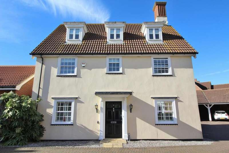 4 Bedrooms Detached House for sale in Clunford Place, Springfield, Chelmsford, Essex, CM1