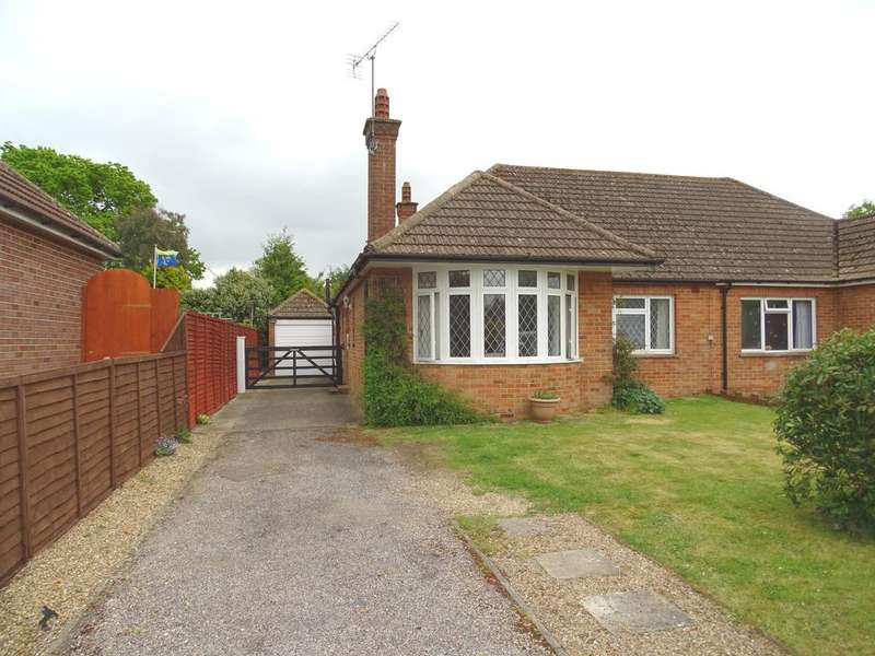 2 Bedrooms Semi Detached Bungalow for sale in Woodgate, Chichester
