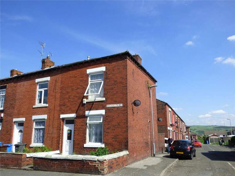 2 Bedrooms End Of Terrace House for sale in Brewerton Road, Oldham, Greater Manchester, OL4