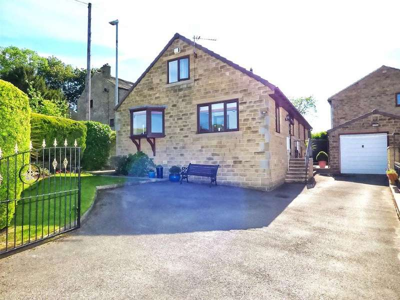 4 Bedrooms Detached House for sale in Ings Mill Avenue, Clayton West, Huddersfield, West Yorkshire, HD8