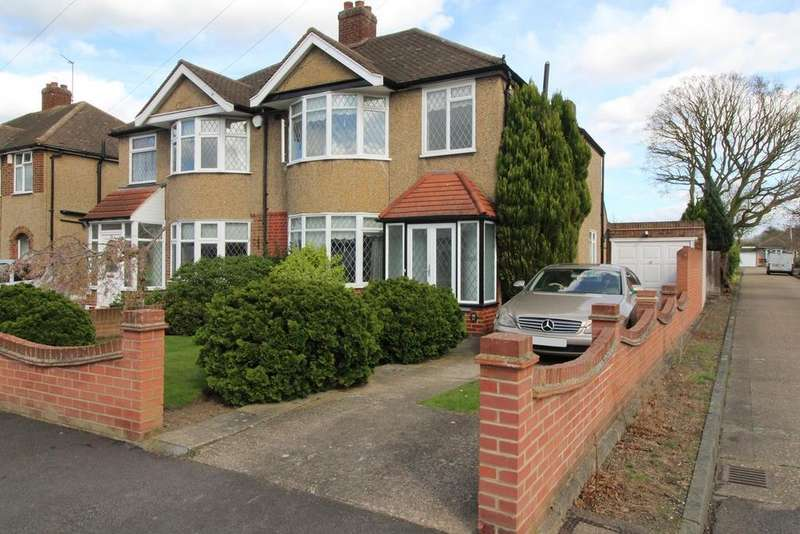 3 Bedrooms Semi Detached House for sale in Sycamore Avenue, Upminster, Essex, RM14