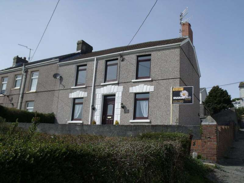 4 Bedrooms Semi Detached House for sale in Bay View, Pwll, Llanelli, Carmarthenshire
