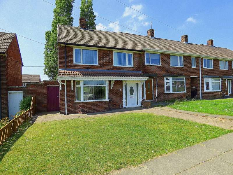 3 Bedrooms Semi Detached House for sale in Romford Road, Stockton-On-Tees, TS19