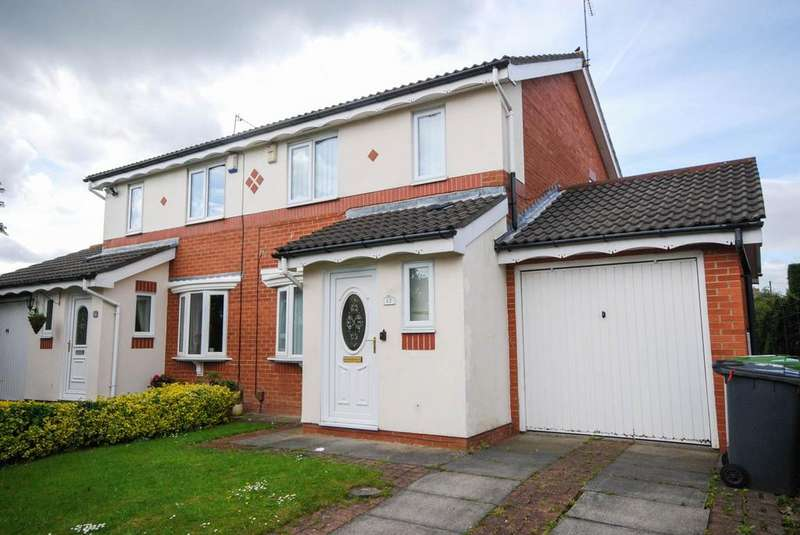 3 Bedrooms Semi Detached House for sale in Calf Close Drive, Jarrow