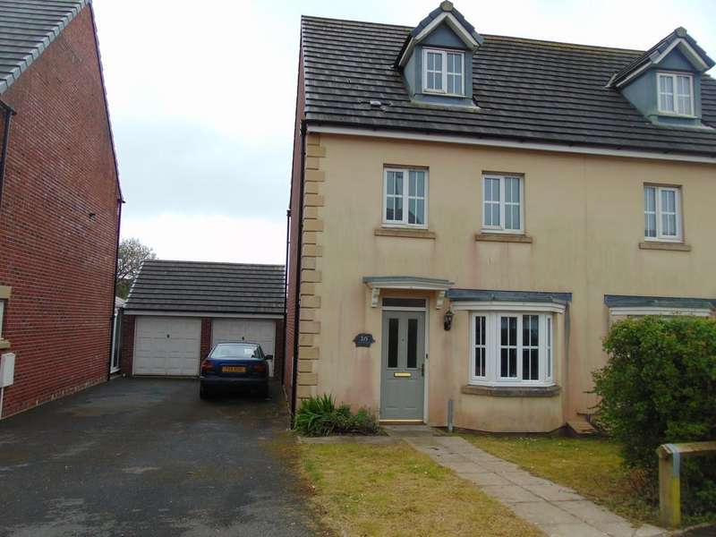 4 Bedrooms Town House for sale in Ger Yr Ysgol, Burry Port