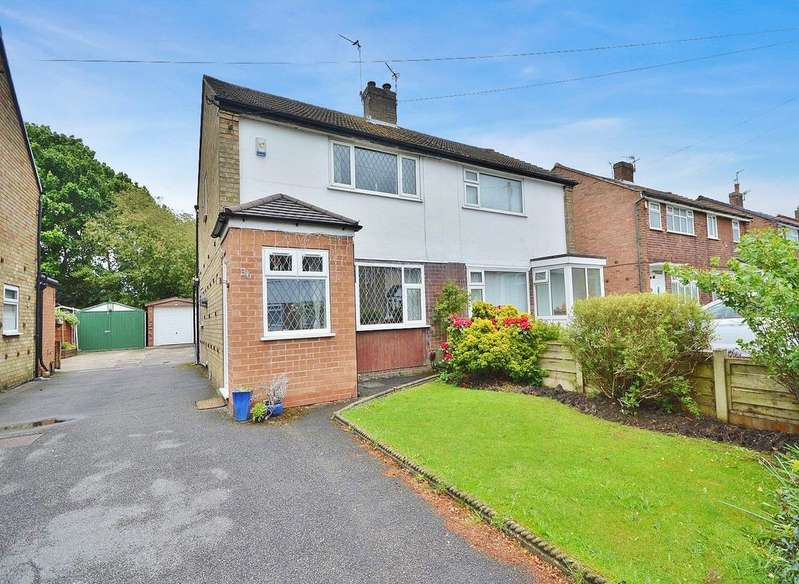 2 Bedrooms Semi Detached House for sale in Dorac Avenue, Heald Green