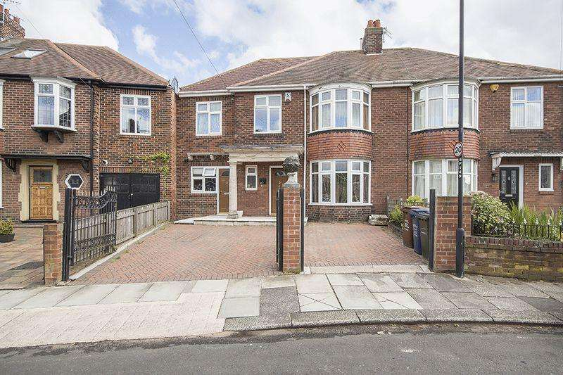 7 Bedrooms Semi Detached House for sale in Friarside Road, Fenham, Newcastle Upon Tyne