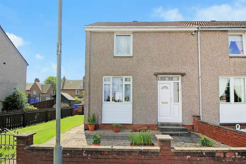 2 Bedrooms End Of Terrace House for sale in Castle Ave, Carronshore, Falkirk