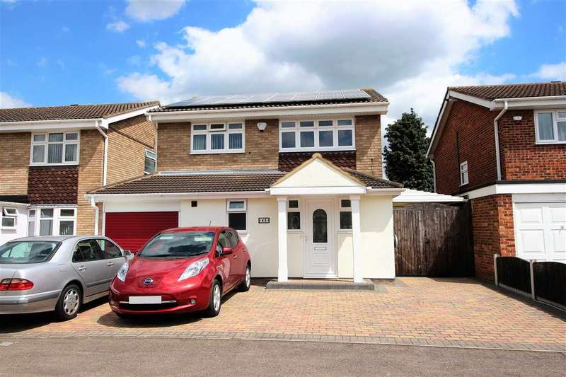 4 Bedrooms Detached House for sale in Marlborough Close