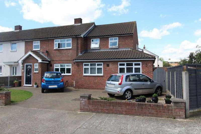 5 Bedrooms End Of Terrace House for sale in Macon Way, Cranham, Esssex, RM14