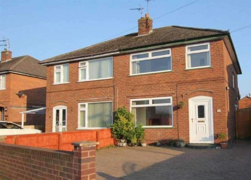 3 Bedrooms Semi Detached House for sale in Longdale Drive, Blacon