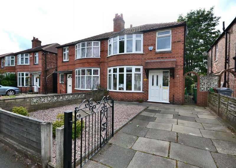 3 Bedrooms Semi Detached House for sale in Parrs Wood Road, East Didsbury
