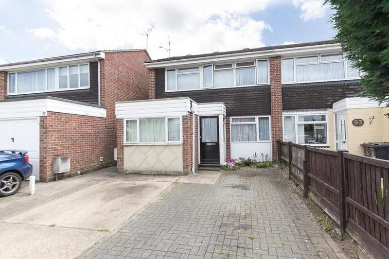 4 Bedrooms Semi Detached House for sale in Onslow Crescent, Colchester, Essex, CO2