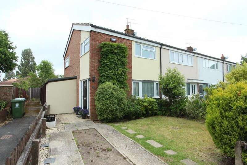 3 Bedrooms End Of Terrace House for sale in Birchen Road, Locks Heath SO31