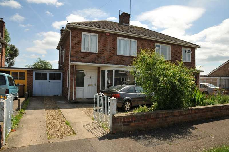 3 Bedrooms Semi Detached House for sale in Peterborough PE1