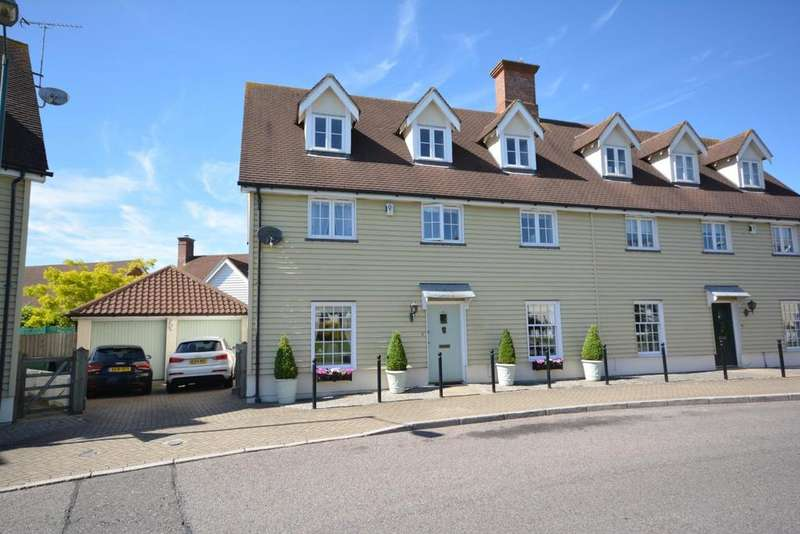 4 Bedrooms Semi Detached House for sale in Bridge End Lane, Great Notley, Braintree, Essex, CM77