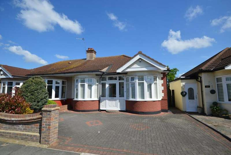 4 Bedrooms Semi Detached Bungalow for sale in Randall Drive, Hornchurch, Essex, RM12