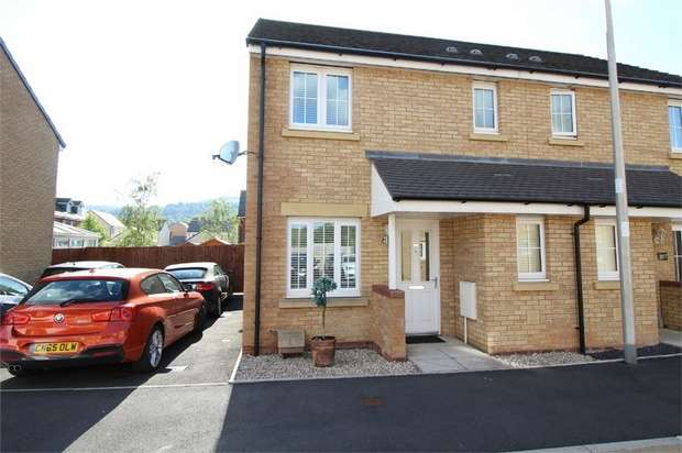 3 Bedrooms Semi Detached House for sale in Parc Panteg, Griffithstown, PONTYPOOL, Torfaen
