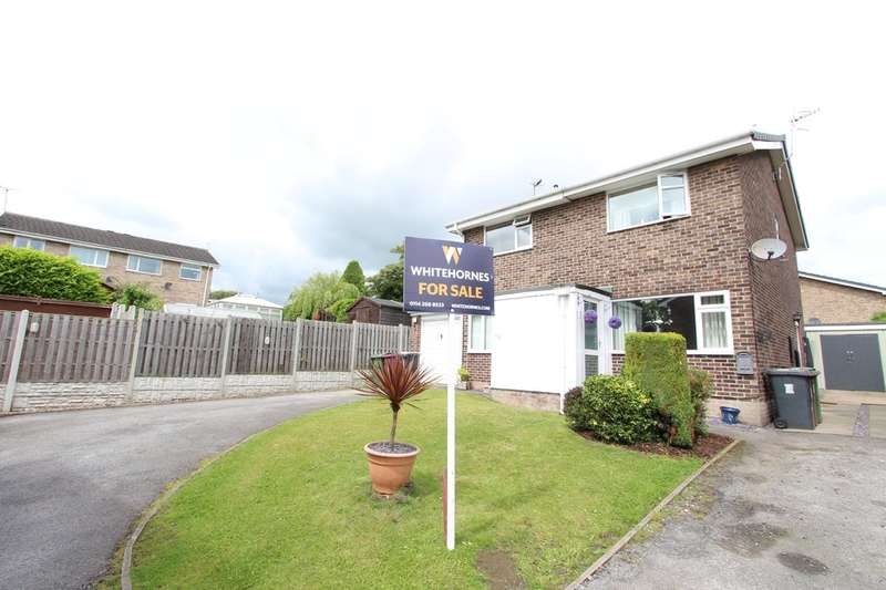 2 Bedrooms Semi Detached House for sale in Buttermere Drive, Dronfield Woodhouse