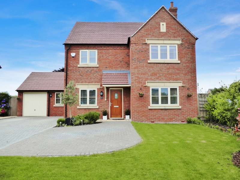 4 Bedrooms Detached House for sale in Ridgley Way, Harbury