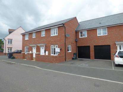 3 Bedrooms Semi Detached House for sale in Cranbrook, Exeter, Devon