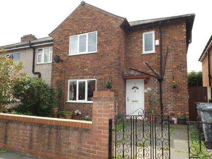 3 Bedrooms Semi Detached House for sale in Cedar Avenue, Lowton, Warrington, Cheshire