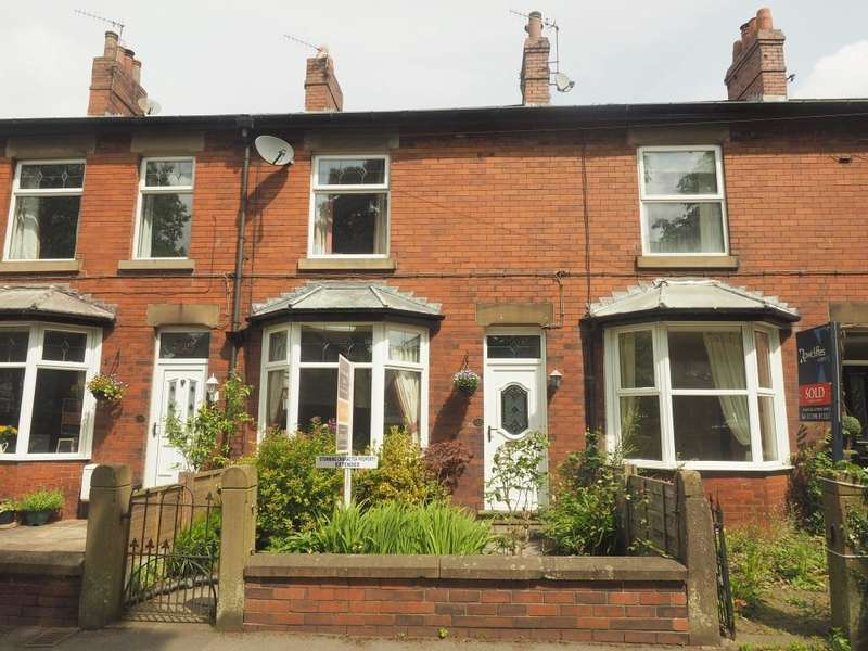2 Bedrooms Terraced House for sale in Eccles Road, Chapel-en-le-Frith, High Peak, Derbyshire, SK23 9RG