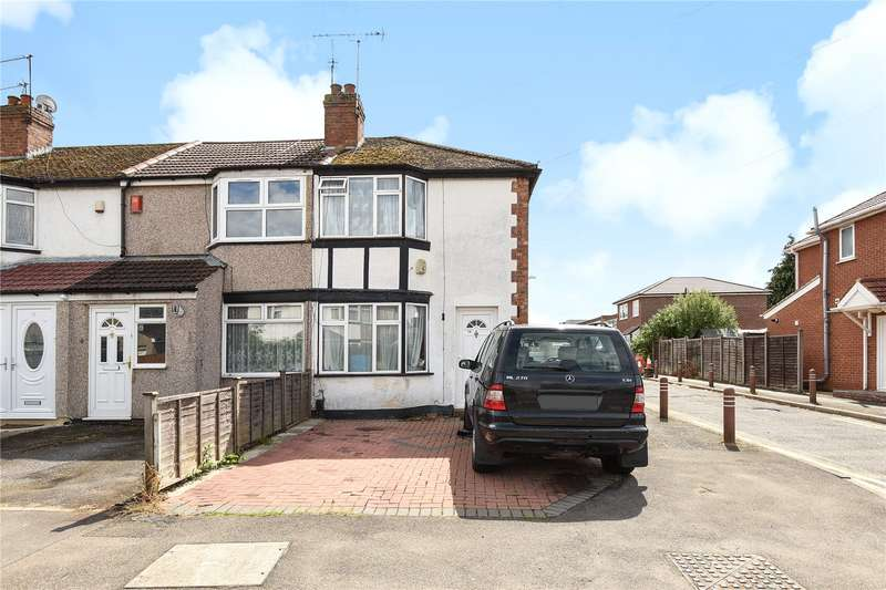 2 Bedrooms End Of Terrace House for sale in Pine Place, Hayes, Middlesex, UB4